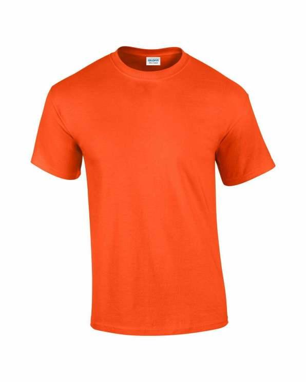 Mens T-Shirt Orange