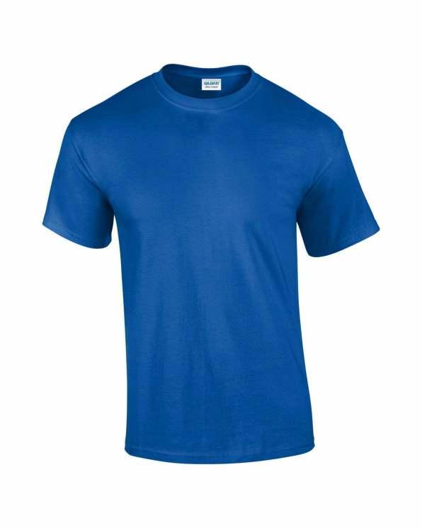 Mens T-Shirt Royal blue
