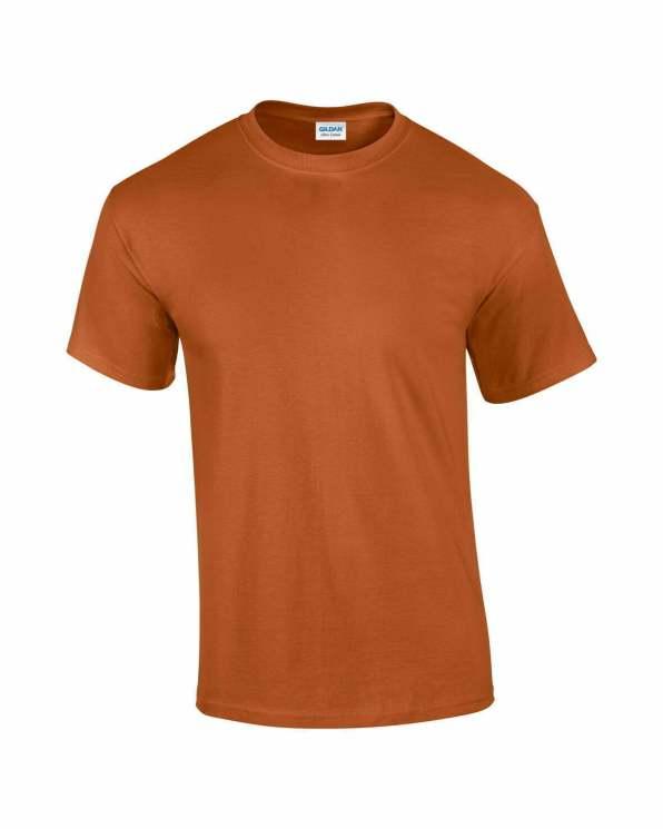 Mens T-Shirt Texas Orange