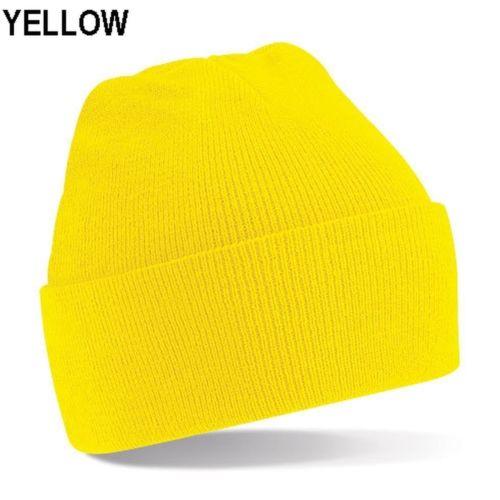 Beanie Hat Yellow