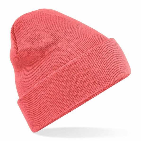 Beanie Hat coral