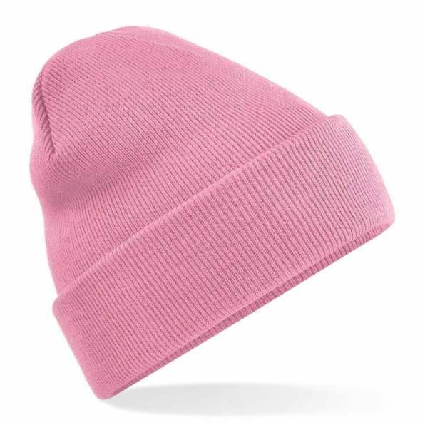 Beanie Hat dusky pink