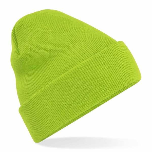 Beanie Hat Lime Green
