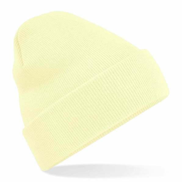 Beanie Hat Pastel Lemon