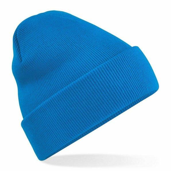 Beanie Hat Sapphire Blue