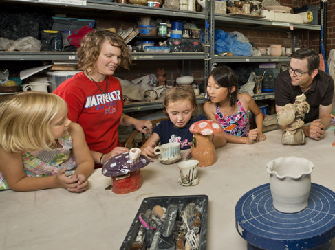 Ceramics Center Serves At-Risk Youth