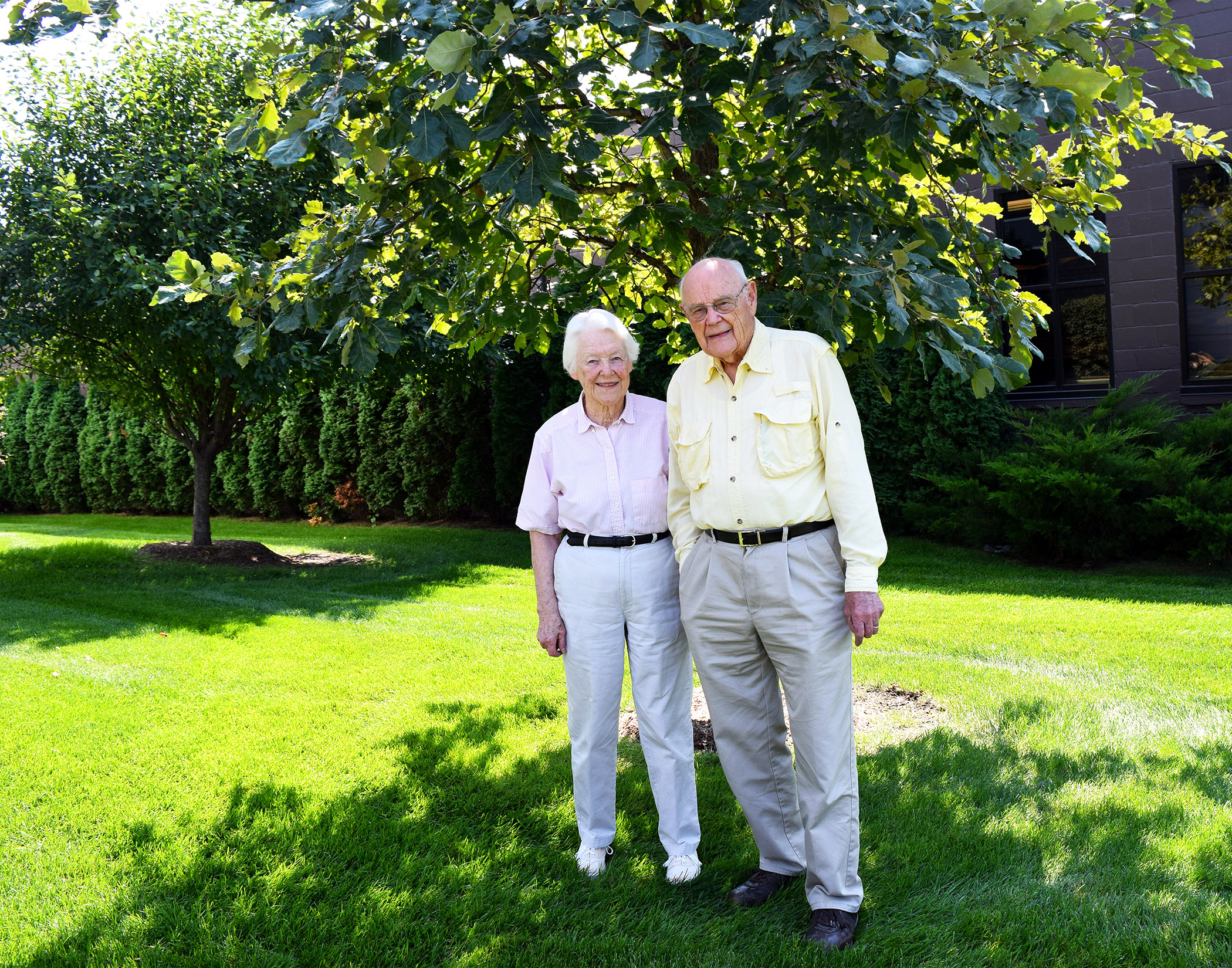 Mike and Esther Wilson