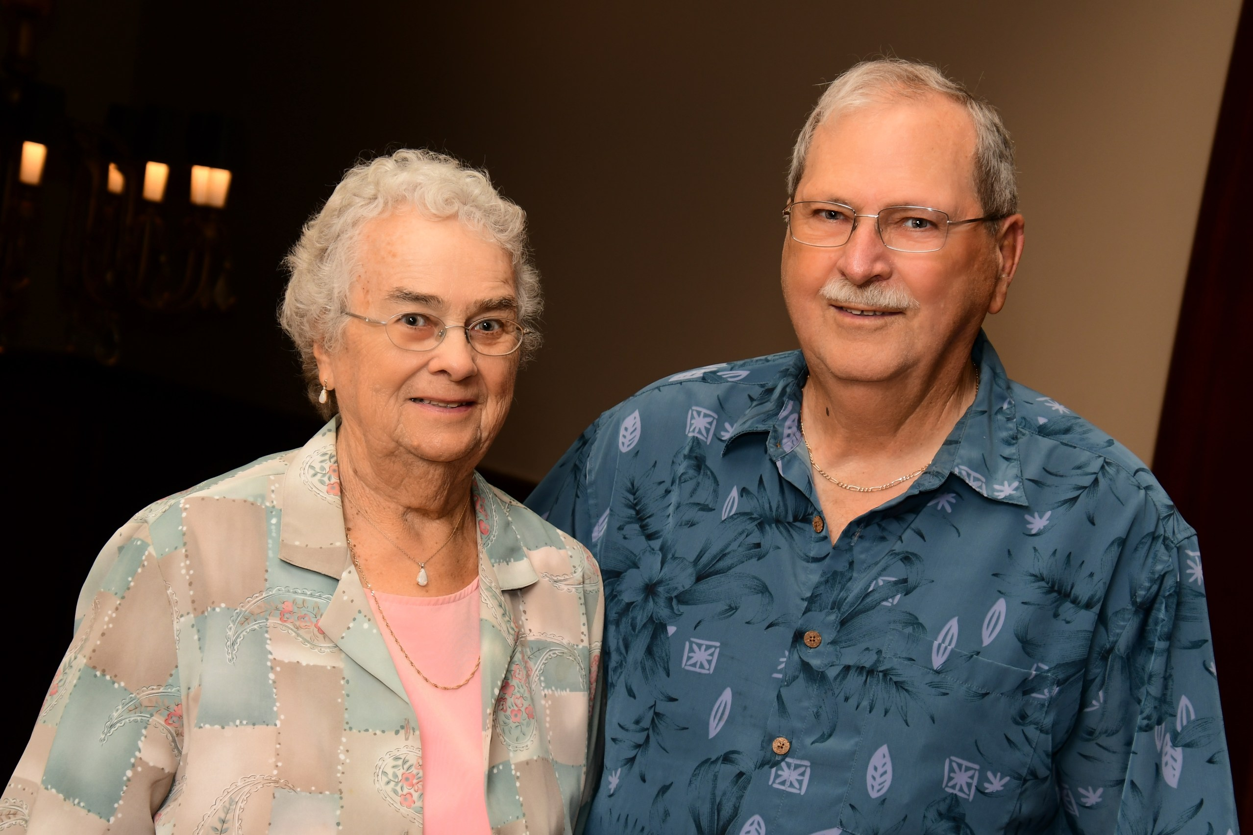 Darrell and Dorothy Fisher