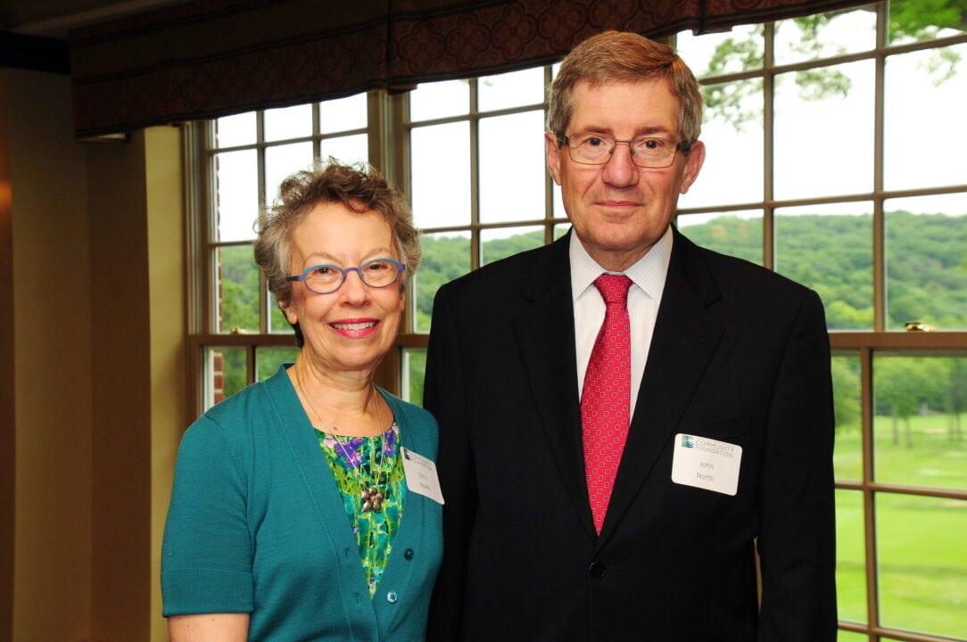 John and Christine North