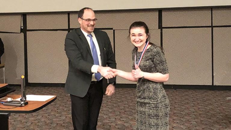 1st Place Intel Finalist,-Maggie Farr,-Saratoga HS
