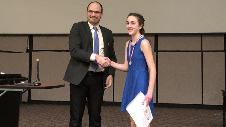 2nd Place, Teagan Wright, Greenwich CSD
