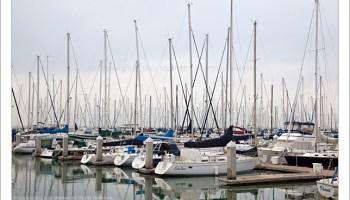 G Dan Mitchell Photograph: South Beach Harbor, Morning — San Francisco