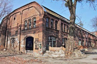 Stocznia Gdańska, budynek formierni w kompleksie hal odlewni / arch. WolnyPortalGdańsk