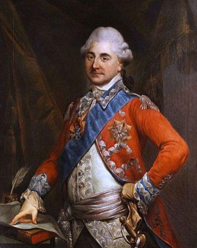 Marcello Bacciarelli Portret Stanisława Augusta. (źródło: Zamek Krolewski w Warszawie)
