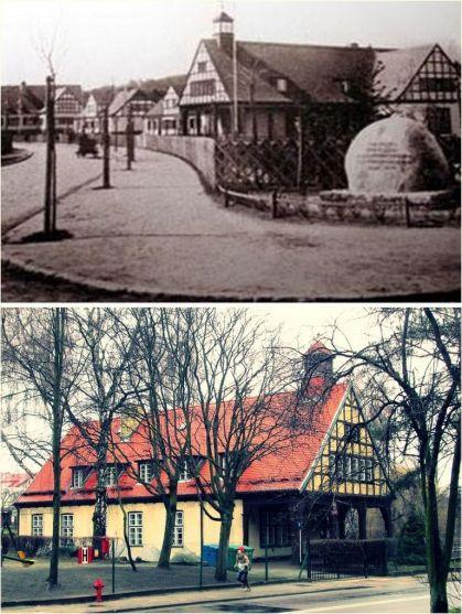 ulica Obodrzyców 1939 i 2014