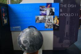 wystawa - część poświęcona misji Apollo 11