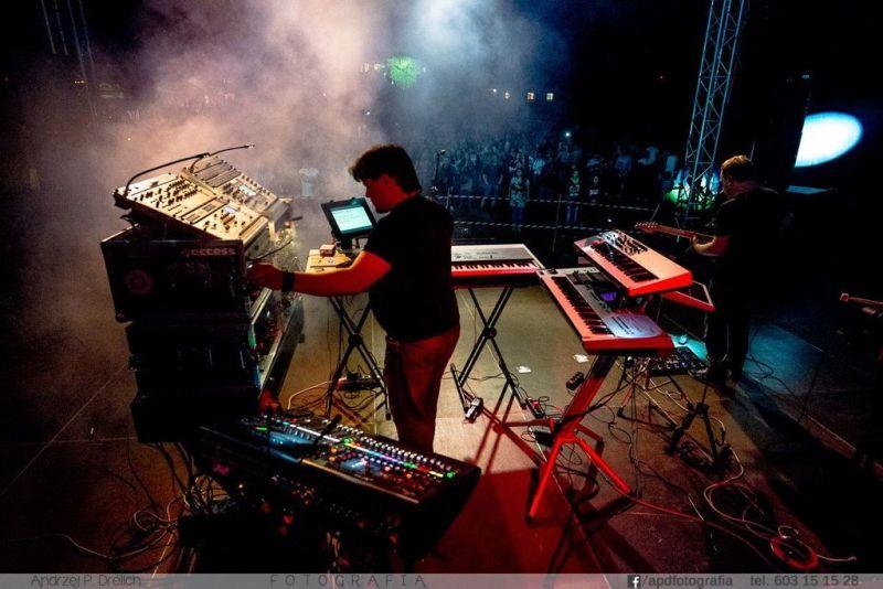 Marcina Chmara projekt muzyczny ELECTRONIC REVIVAL  fot. Andrzej Drelich