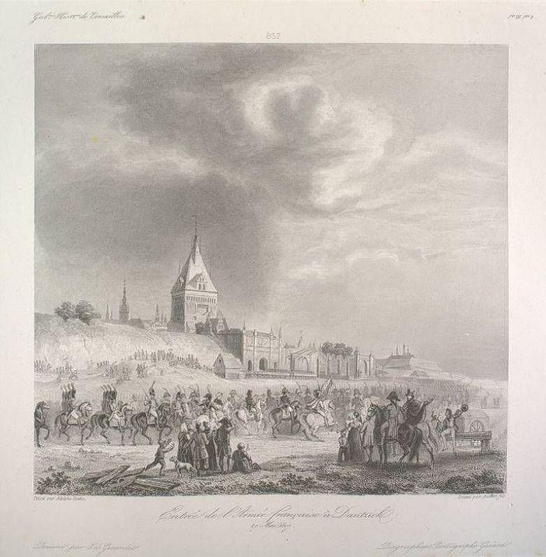 wjazd Napoleona do Gdańska 1 czerwca 1807 r.