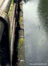 stan zamknięcia wylotu odnogi kanału obecnie