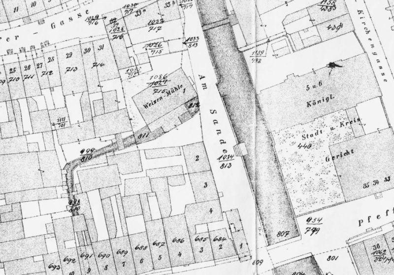 plan Buhsego z 1866 roku