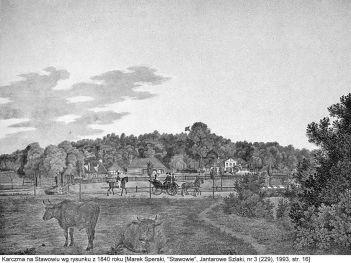 karczma w 1840