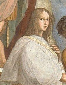 Hypatia na obrazie Raphaela