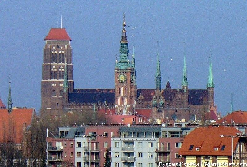 widok z Bastionu Żubr