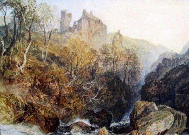"""Josepha Turnera """"Zamek Rosslyn"""" z 1818 r."""
