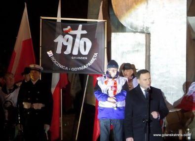 obchody Grudnia'70 - prezydent Andrzej Duda