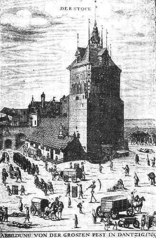 Samuel Donnet - zaraza 1709 r.