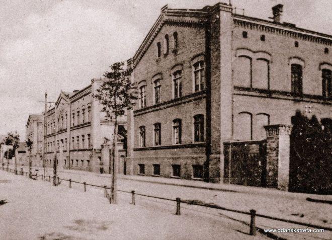 Królewska Fabryka Karabinów przy obecnej ulicy Łąkowej