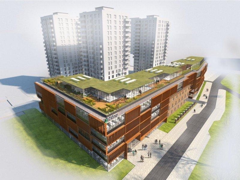 Bastion Wałowa, mat. iwestora