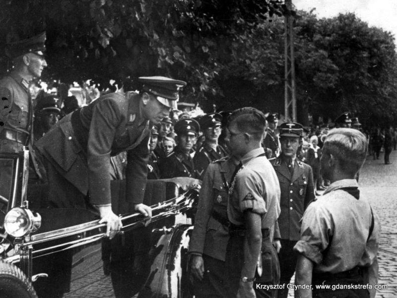 Albert Forster i Hitlerjugend
