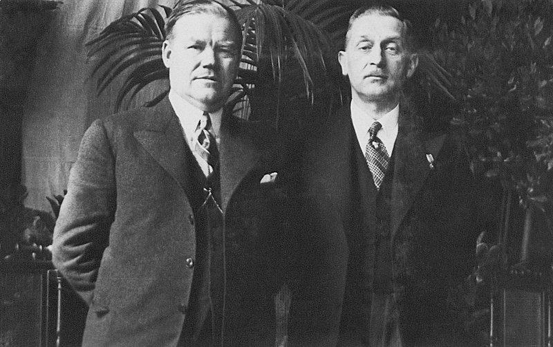 Antoni Lendzion i Bronisław Budzyński