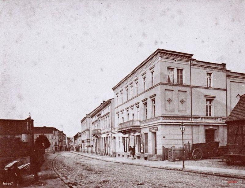 Ul. Gdańska w XIX w.