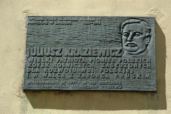 Tablica pamiątkowa przy Mieszczańskiej