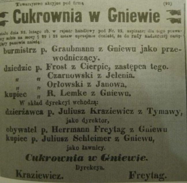 """Wycinek prasowy z """"Piasta"""""""