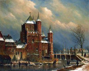Brama w Haarlemie - Oene Romkes de Jongh