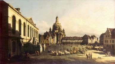 Nowy Rynek, Drezno - Bernardo Bellotto, 1747