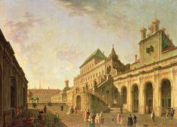 Pałac Bojarów na Kremlu - Fedor Yakovlevich Alekseev, 1801