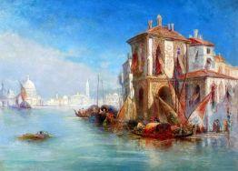 Wenecka willa z widokiem na Santa Maria della Salute - James Holland