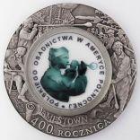 Moneta okolicznościowa z okazji przypłynięcia Polaków do Ameryki, domena publiczna