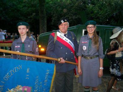 drużyna harcerek z Trzcianki, z archiwum autorki