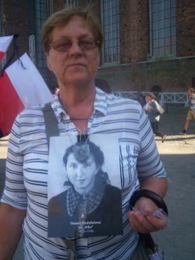 gość spoza Gdańska, z archiwum autorki