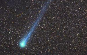 Kometa 109P/Swift-Tuttle na fotografii Geralda Rhemanna z 1992 roku