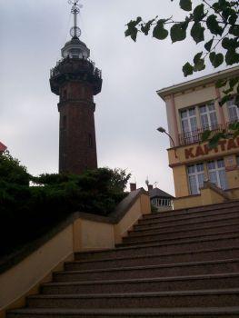 latarnia i Kapitanat Portu, z archiwum autorki