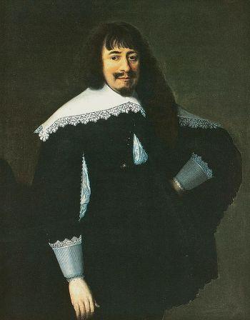Martin Opitz, obraz Bartholomausa Strobel