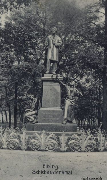 Schichau-pomnik