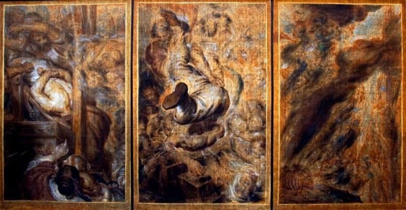 A.Wiertz - Wizje zgilotynowanej głowy