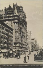 Waldorf=Astoria w 1905